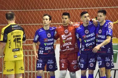 Joaçaba Futsal empata com o Jaraguá pela Série Ouro