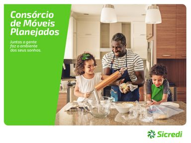 Sicredi lança consórcio para móveis planejados
