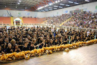 Proerd realiza formatura de mais de 400 alunos em Joaçaba