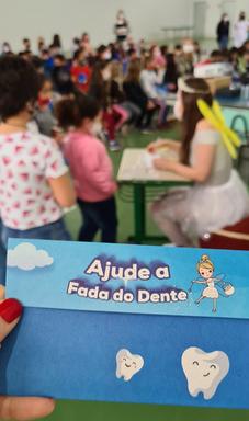 Curso de Odontologia da Unoesc promove primeira edição do projeto A Fada do Dente