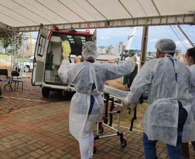 Município está em colapso na saúde com a superlotação dos leitos – Foto: Prefeitura de Xanxerê/Divulgação/ND