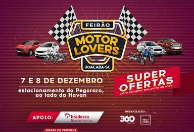 Mega Feirão Motor Lovers acontece neste final de semana, 7/12 e 8/12, em Joaçaba!