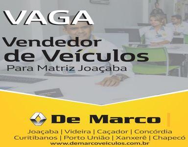 Vendedor de Veículos - DE MARCO RENAULT