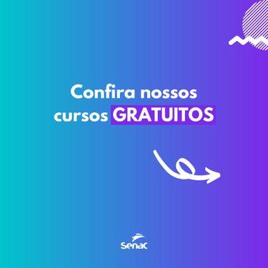 CURSOS GRATUITOS SENAC JOAÇABA