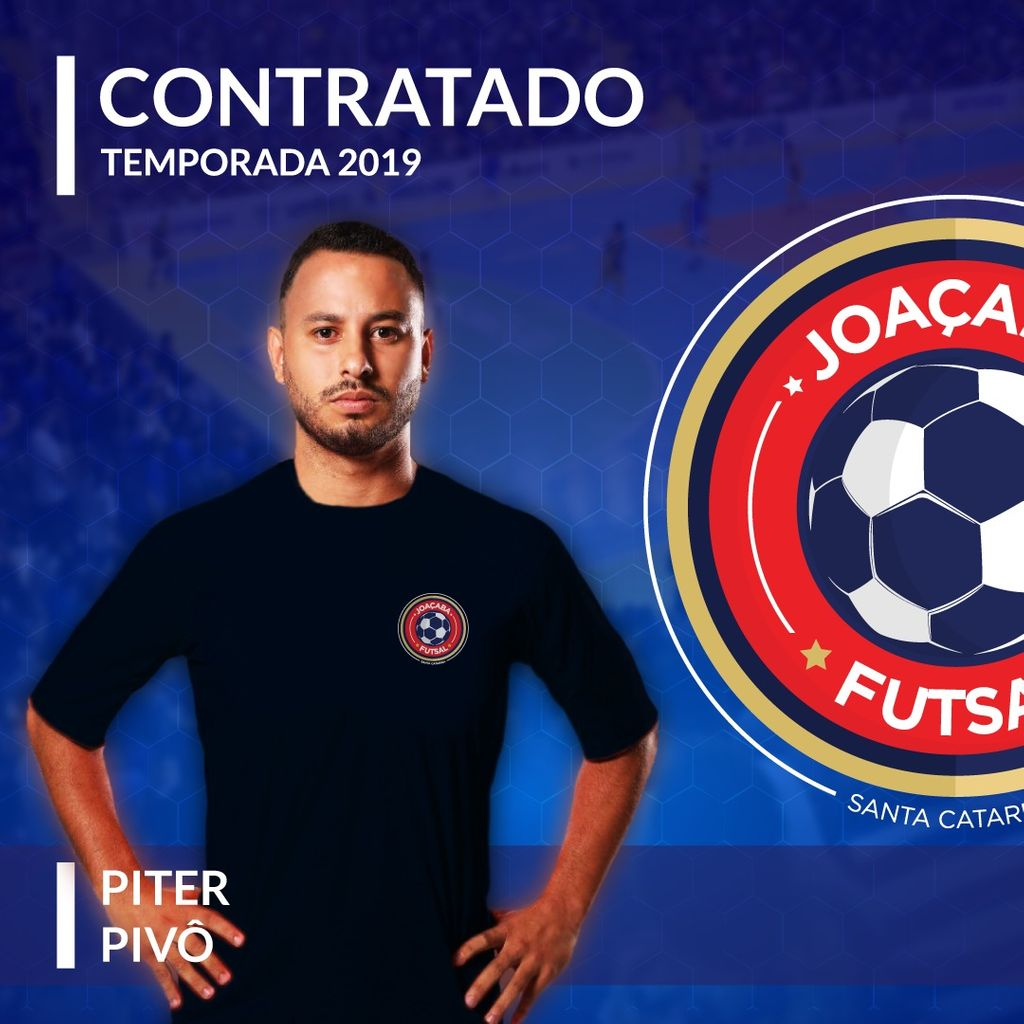 Joaçaba Futsal contrata o pivô Piter, ex-ACBF