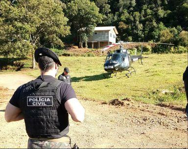 Operação da Polícia Civil termina com dois baleados em Catanduvas