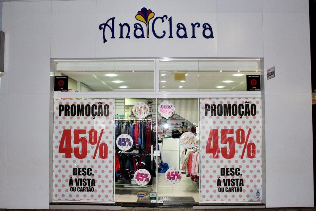Promoção na Loja Ana Clara - Produtos com 45% de Desconto em toda a linha infantil