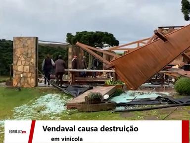 Live! Região sofre com danos do ciclone extratropical