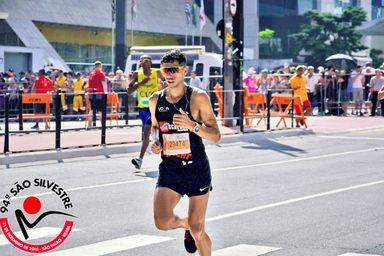 Douglas Silva é top 115 na tradicional corrida de São Silvestre