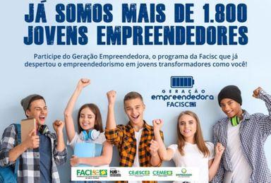 ACIOC apoia o Programa Geração empreendedora e estimula alunos das escolas da região a participarem