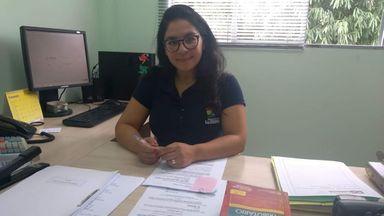 Cristina Kull, do Setor de Tributação do município