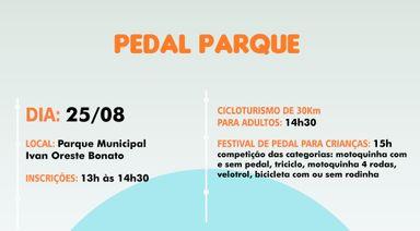 1º Pedal Parque de Joaçaba acontece no próximo dia 25