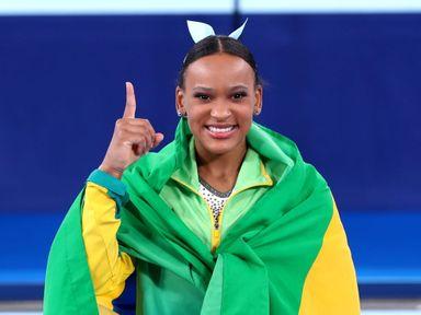 Rebeca Andrade salta para a história e é ouro nas Olimpíadas de Tóquio
