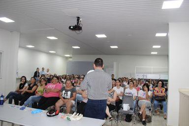Servidores do Município de Joaçaba realizam capacitação sobre o uso de EPI'S