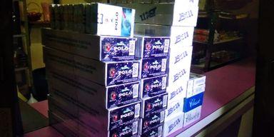Operação mira o contrabando de cigarros na região