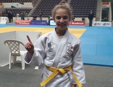 Judoca de Joaçaba é campeã brasileira na categoria peso Meio Médio