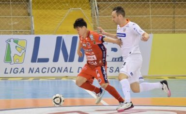 Joaçaba Futsal decide vaga nas quartas de final da LNF 2020 nesta segunda-feira