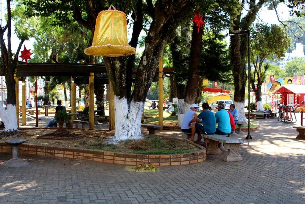 Praça de Herval será revitalizada com recursos da PM Ambiental