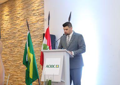 Angelo Junior Radavelli assume a presidência da ACIOC para a gestão 2020/2021