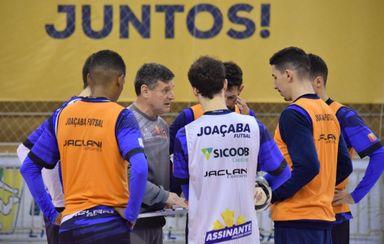 Joaçaba Futsal enfrenta o Corinthians nesta sexta-feira pela LNF