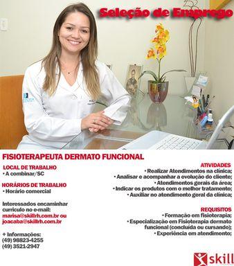 FISIOTERAPEUTA DERMATO FUNCIONAL