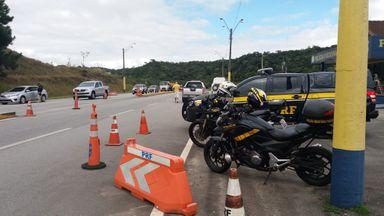 Fotos: Divulgação/PRF - SC