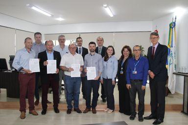 Simae e prefeitura assinam contrato de financiamento para obra da estação de tratamento de água