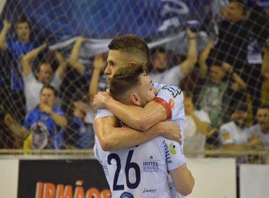 Joaçaba Futsal vence o 1º Jogo da final da Divisão Especial do Campeonato Catarinense