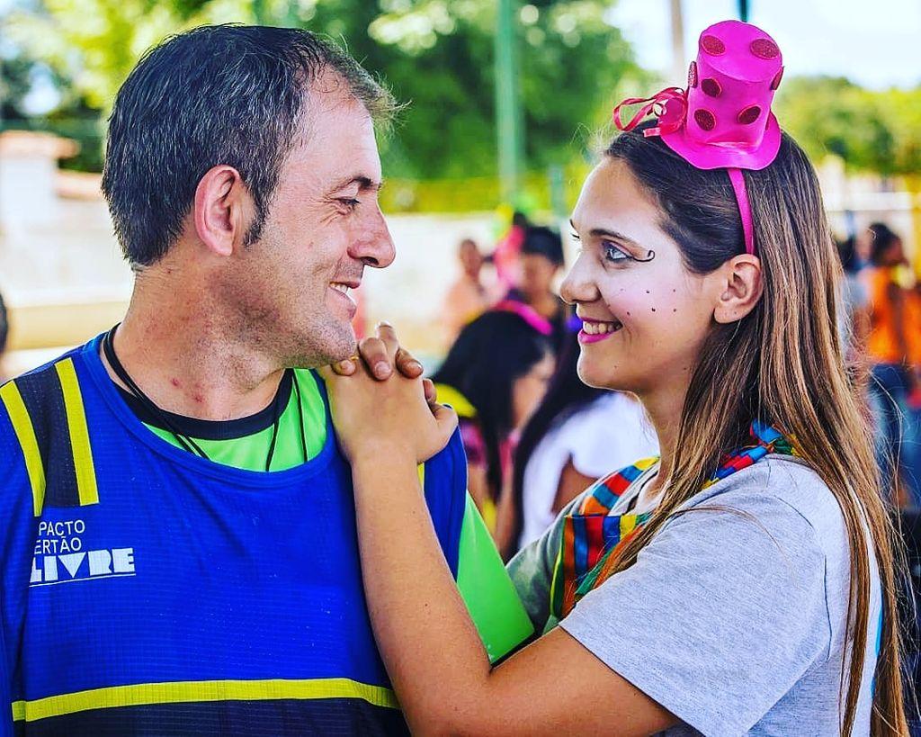 Eliete e Angelo Bechi em missões na cidade de São Raimundo Nonato/PI em julho de 2019