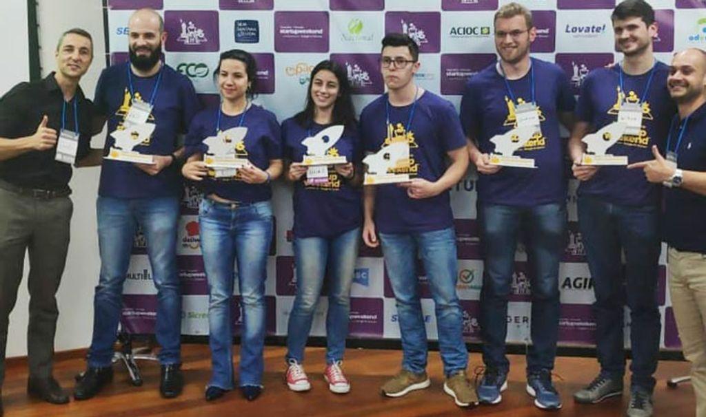 Equipe  com representantes da Unoesc conquistou o 2º lugar