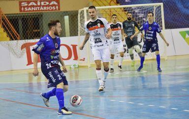 Joaçaba Futsal enfrenta o Blumenau nesta sexta-feira pela Série Ouro
