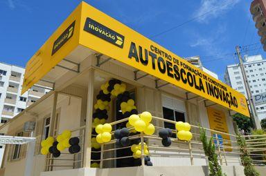 Auto Escola Inovação inaugura em Joaçaba com pista de moto em anexo