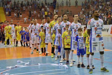 Joaçaba empata em casa a primeira partida da final do estadual de futsal