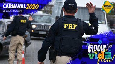 PRF inicia a Operação Carnaval 2020