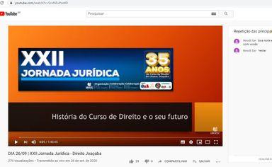 Jornada Jurídica em comemoração aos 35 anos do curso de Direito supera expectativas