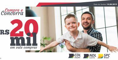 Divulgados nomes dos 54 ganhadores da promoção do Dia dos Pais em Joaçaba e Luzerna