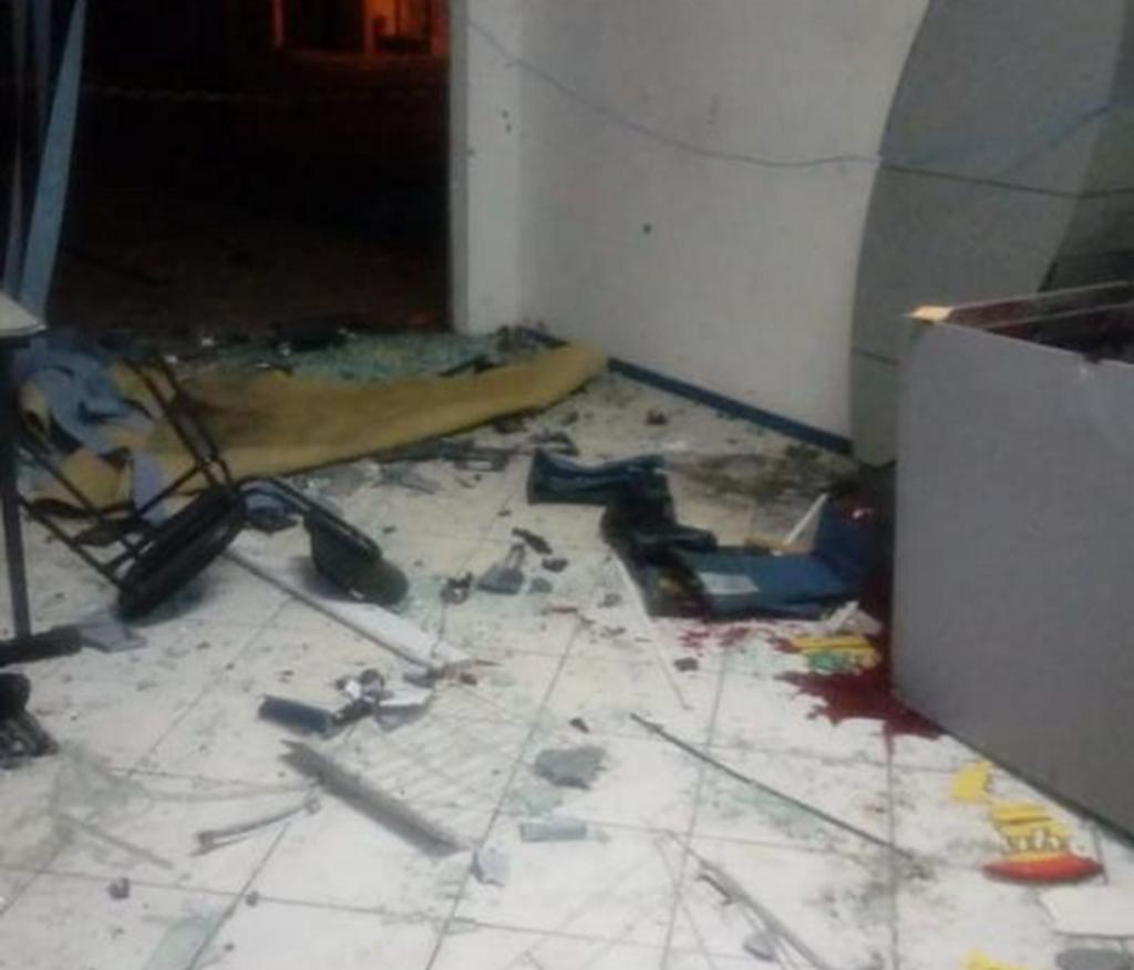 Bandidos usaram explosivos na ação
