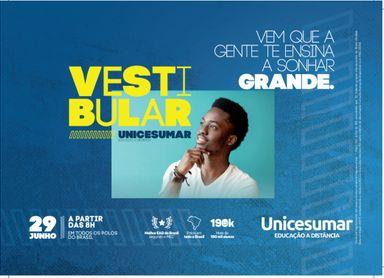 EAD Unicesumar realiza Vestibular Nacional neste sábado