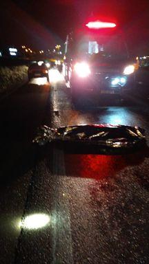 Homem morre atropelado na BR-282 em Campos Novos