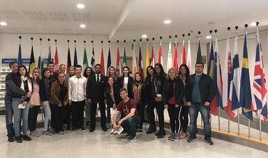 Visita ao Parlamento  Europeu
