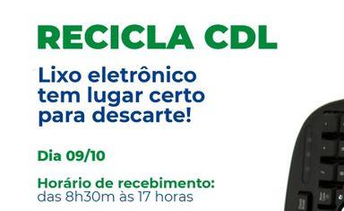CDL de Herval realiza Recicla 2021 neste sábado