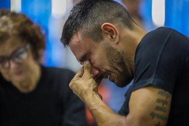 Alan Ruschel não segurou a emoção (Foto: Dinho Zanotto/Arquivo pessoal)