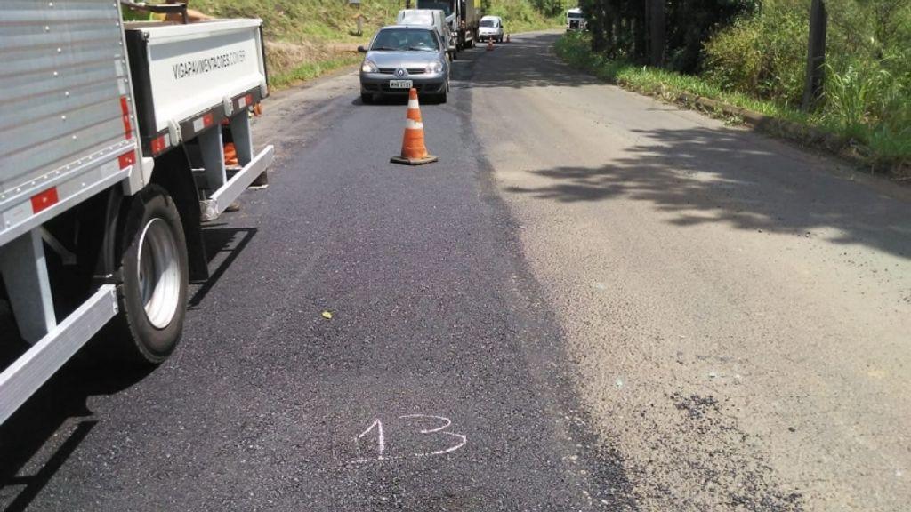 600 toneladas de asfalto serão usados para tapar 230 buracos entre Treze Tílias e Água Doce