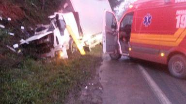 Morador de Joaçaba morre em acidente em Pouso Redondo