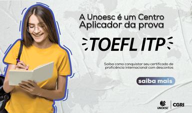 Unoesc é centro aplicador da prova de proficiência em inglês