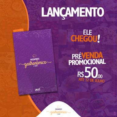 JCI lança segunda edição do Passaporte Gastronômico