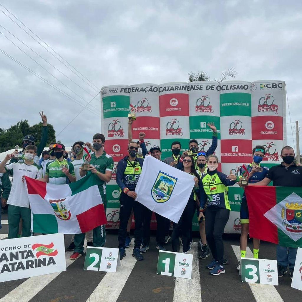 Ciclismo de Joaçaba conquista título inédito nos Joguinhos Abertos de Santa Catarina