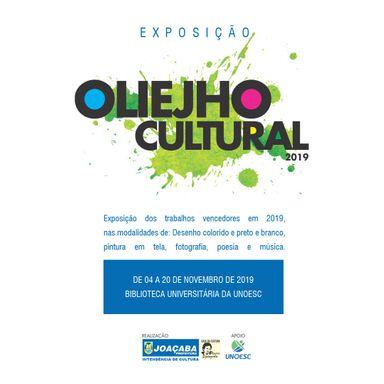 """Inicia nesta segunda, 4, a exposição da """"11ª Oliejho Cultural"""""""