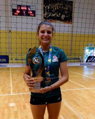 Atleta formada nas categorias de base da AJOV é campeã brasileira de Seleções Sub-18