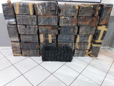 Após perseguição, Polícia Militar de Concórdia apreende quase 500 quilos de maconha